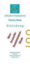 100 Jahre Zonta Poetry Slam
